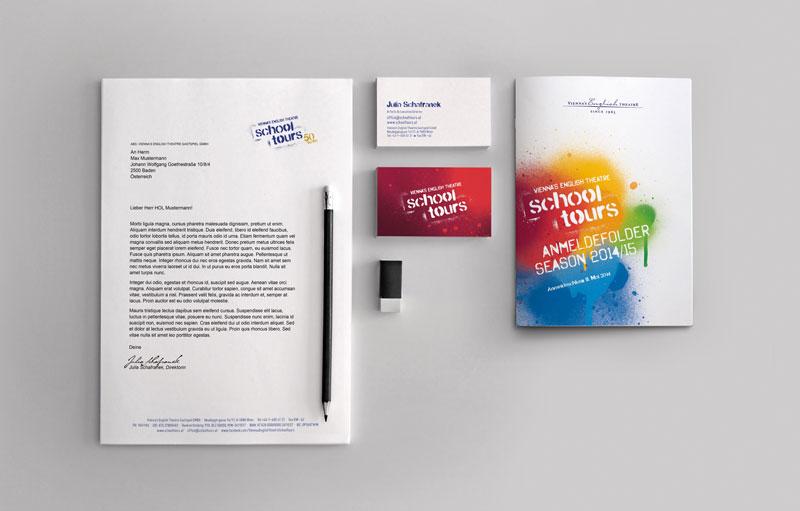 Schooltours, Corporate Design