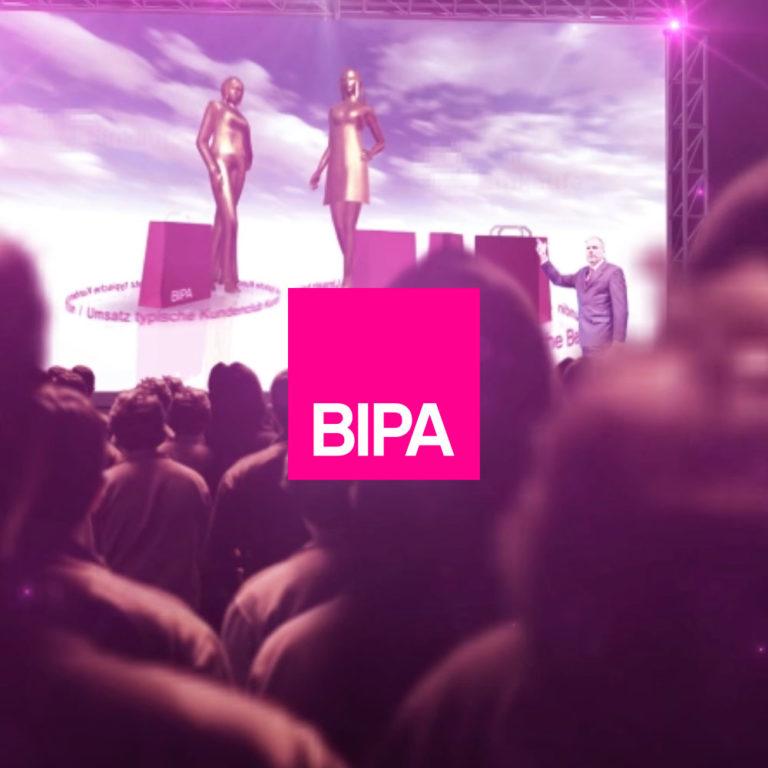 BIPA Event Design, Ventuz Echtzeitpräsentation