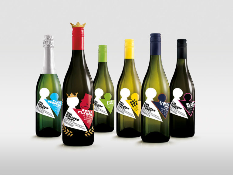 The Siblings Winery, Weinflaschen, Packaging