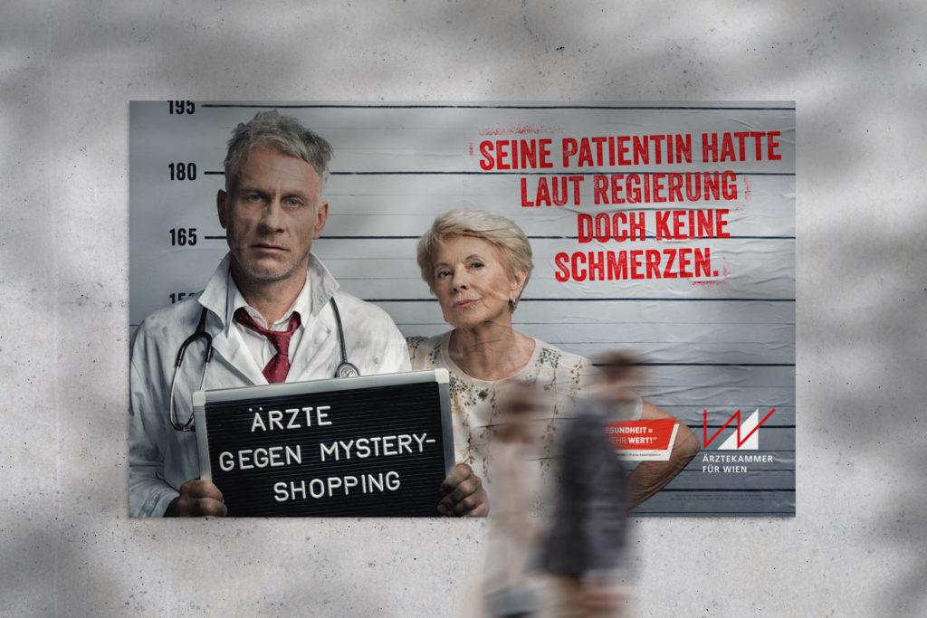 Ärztekammer-Wien Kampagne