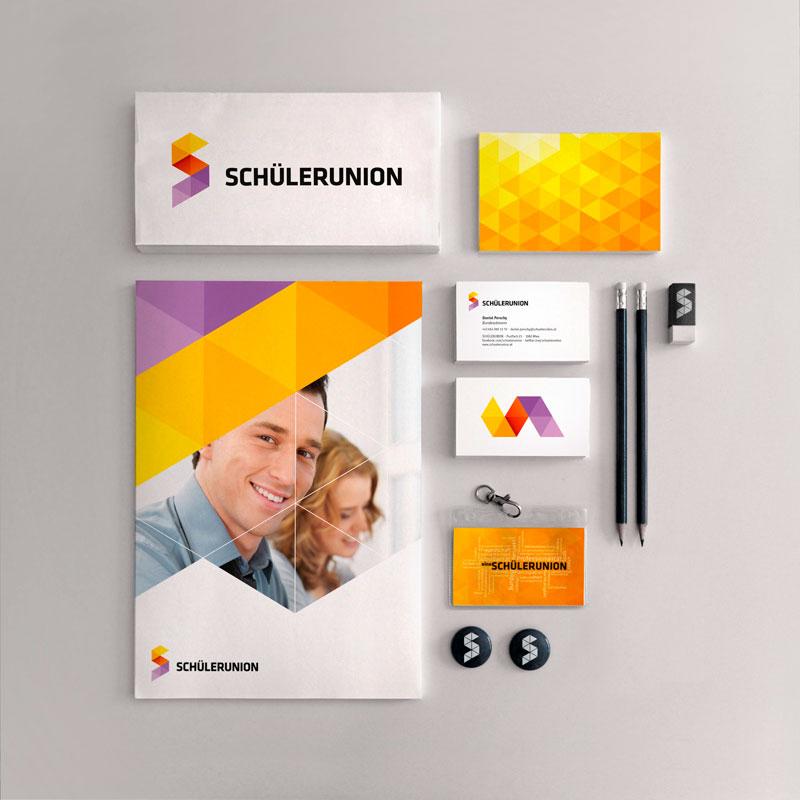 Schülerunion Corporate Design